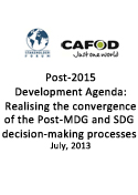 Cover Post-2015 Development Agenda
