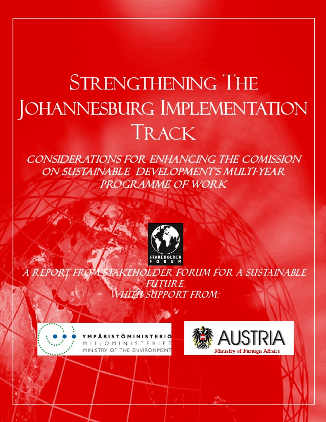 stakeholder-forum-report-strengthening-the-johannesburg-implementation-track